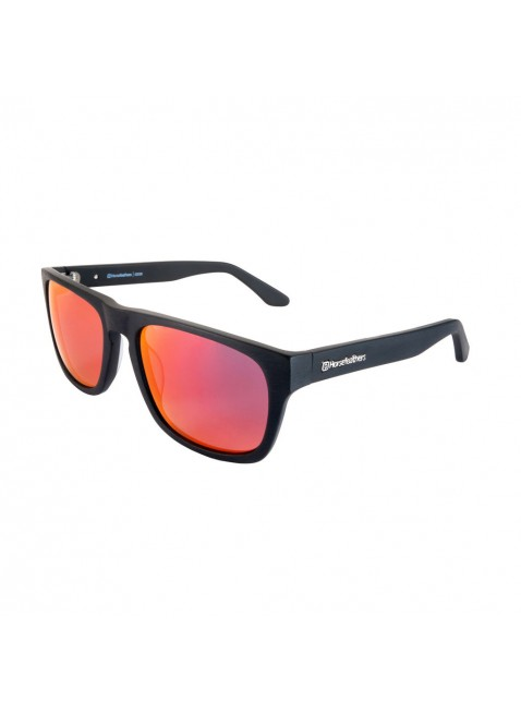 brýle Horsefeathers Keaton sunglasses brushed black mirror red