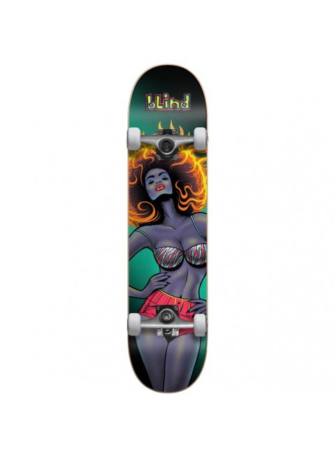 komplet Skateboard BLIND Blacklight Girl FP Comp Black (BLK) 8""