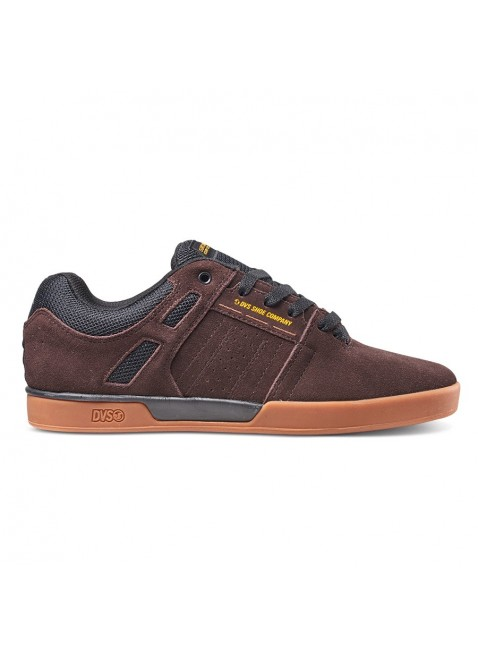 Boty DVS Drift brown black suede getz