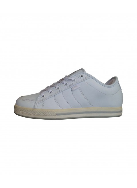 Boty DVS Dillenger white grey leather