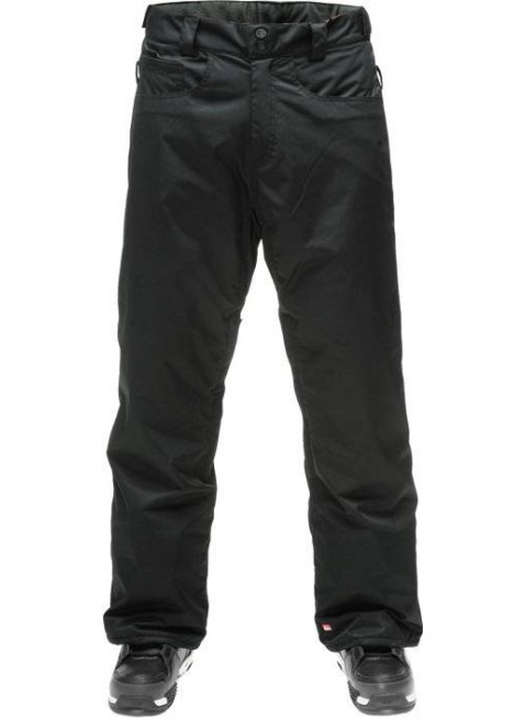 QUIKSILVER DRIZZLE INSULATED black kalhoty snb