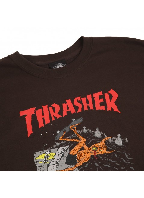 Triko Thrasher Neckface brown