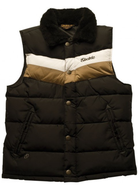 Electric McFLY PUFFER vest black