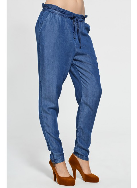kalhoty Quiksilver Women The Union Pant indigo blue