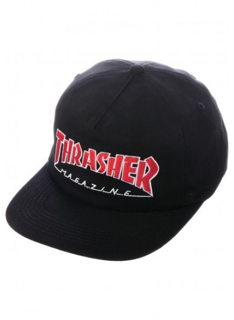Kšiltovka Outlined Snapback black