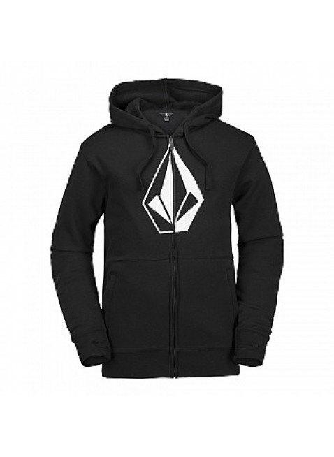 MIKINA VOLCOM JLA STONE ZIP FLEECE black