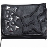 Fox IN THIS CITY wallet black peněženka
