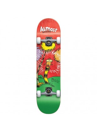 komplet skateboard ALMOST - Lorax Premium Complete Red 8,0""