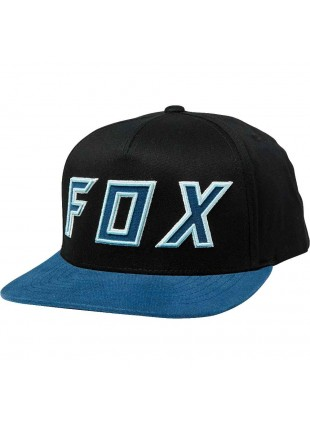 Kšiltovka Fox Posessed snapback hat black navy