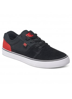 Boty DC Tonik black red white