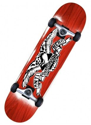 komplet Skateboard ANTIHERO STENCIL EAGLE RED 8,0