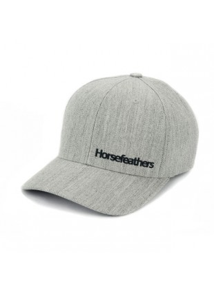 kšiltovka Horsefeathers  Beckett heather grey