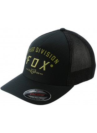 Kšiltovka Fox Speed Division Black flexfit