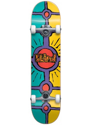 komplet skateboard BLIND - Holy Grail FP Complete Teal/Yellow (TEAL/YEL) 8""