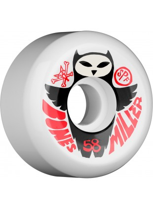 Kola BONES WHEELS SPF Pro Miller Owl 58mm (4pack)