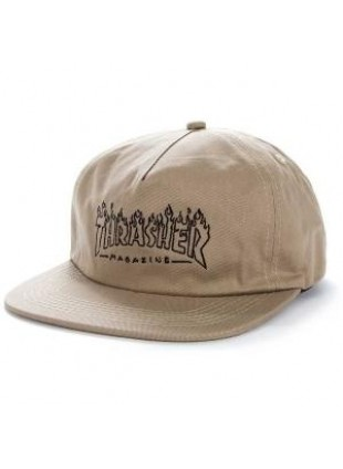Kšiltovka Thrasher Witch Snapback Tan