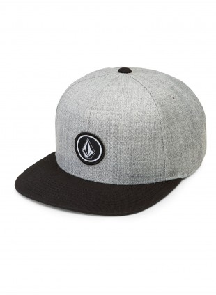 Kšiltovka Volcom QUARTER TWILL HAT black grey