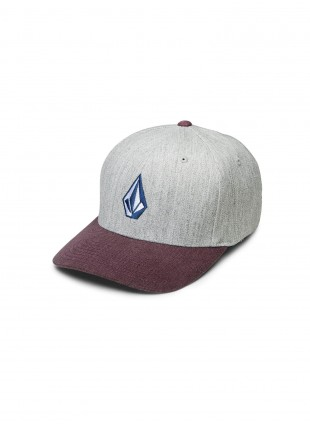 Kšiltovka Volcom FULL STONE HEATHER HAT cabernet