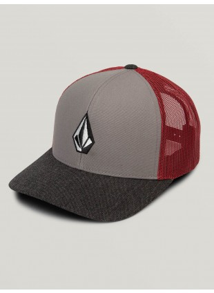 kšiltovka Volcom Full Stone Cheese Hat  Burgundy