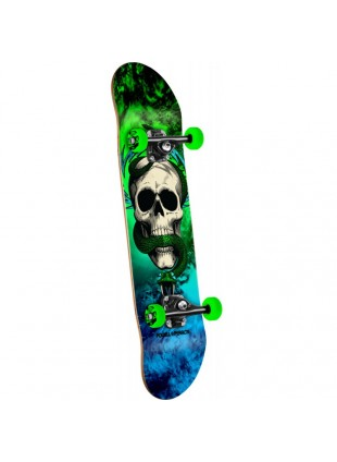 Komplet Skateboard Powell Peralta Skull and Snake Storm  Green/blue - 7.625 x 31.625