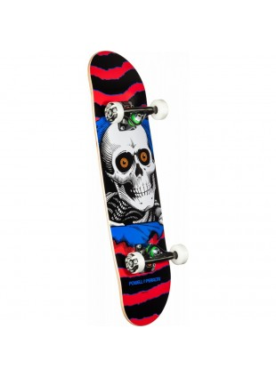 Powell Peralta Ripper One Off Red Assembly Red/White - 7.5 x 28.65