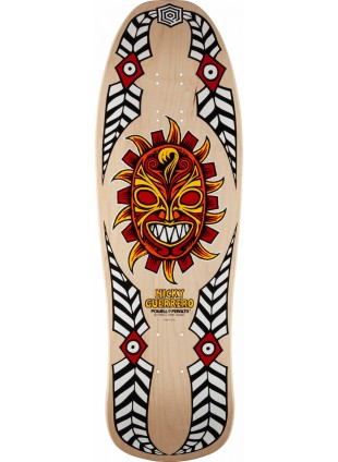 Deska Powell Peralta Guerrero Mask Skateboard Deck Natural - 10 x 31.75