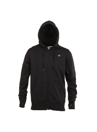 mikina electric volt zip black