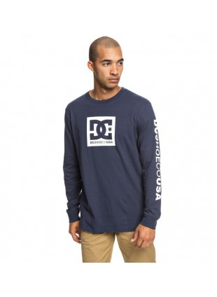 Trikos dlouhým rukávem DC Men's Square Star Long Sleeve Tee Shirt