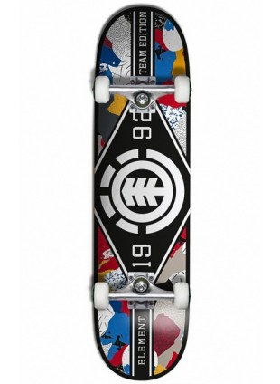 Komplet skateboard ELEMENT M. LEAGUE CUT OUT WHITE/BLACK 8.0""