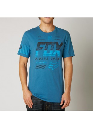 triko Fox Escaped SS Premium Tee blue