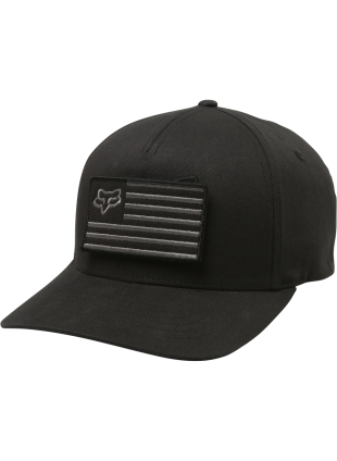 Kšiltovka Fox Placate flexfit hat black