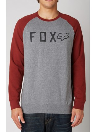 Mikina Fox TRESSPASS crew fleece graphite
