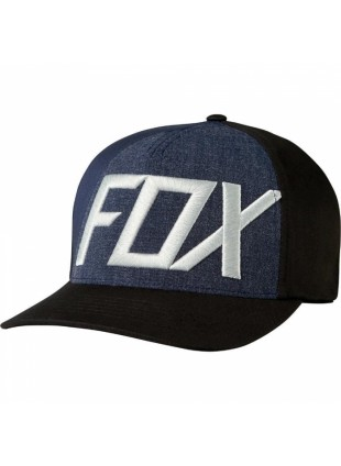 Kšiltovka Fox Blocked Out flexfit black