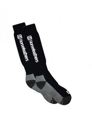 ponožky Horsefeathers Spirit socks Thermoline black 8-10