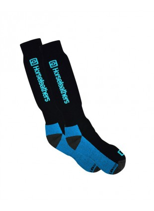 ponožky Horsefeathers Spirit socks Thermoline blue 8-10
