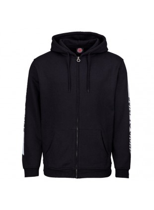 mikina INDEPENDENT Tc Blaze Zip Hood Black