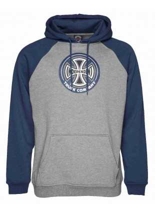 MIKINA INDEPENDENT 88 TC RAGLAN navy/dark heather