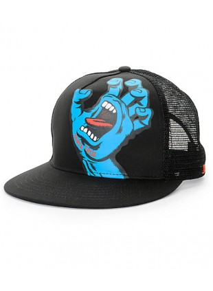 Kšiltovka Santa Cruz Screaming Hand Mesh Black Cap