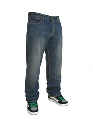 Quiksilver BUSTER vintagr cracked relax jeans