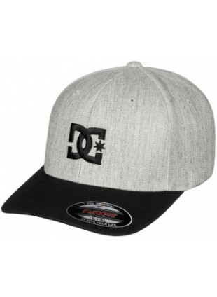 kšiltovka DC Cap Star 2 grey heather