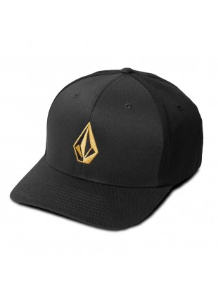 Kšiltovka volcom Full Stone dirt gold flexfit