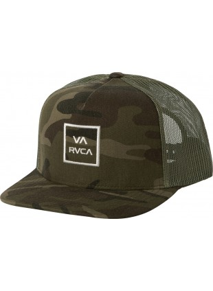 kšiltovka RVCA All The Way Ct III olive camo