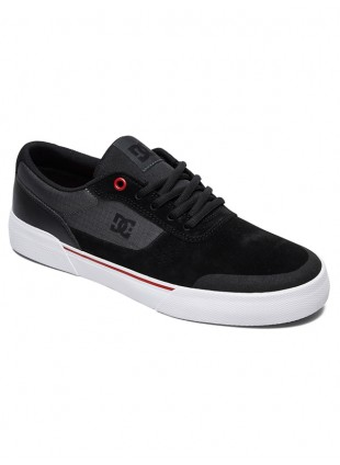 boty Dc SWITCH PLUS S BLACK/ATHLETIC RED/WHITE