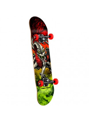 Komplet Skateboard Powell Peralta Cab Dragon red/lime 7,75