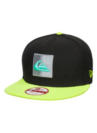 kšiltovka Quiksilver Cake New Era 9Fifty Lime Green