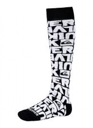 ponožky Quiksilver STEADY SOX dipped black