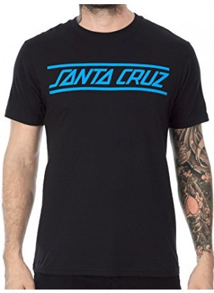 Triko Santa Cruz Strip black