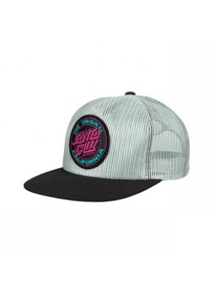 Kšiltovka Santa Cruz Cali Dot Colour cap grey black