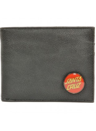Peněženka Santa Cruz Clasic Badge Bi-Fold black