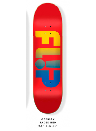 Deska Flip Odyssey Faded red 8,5